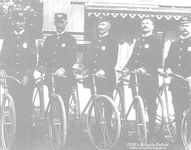 1900s Bike Patrol Unit