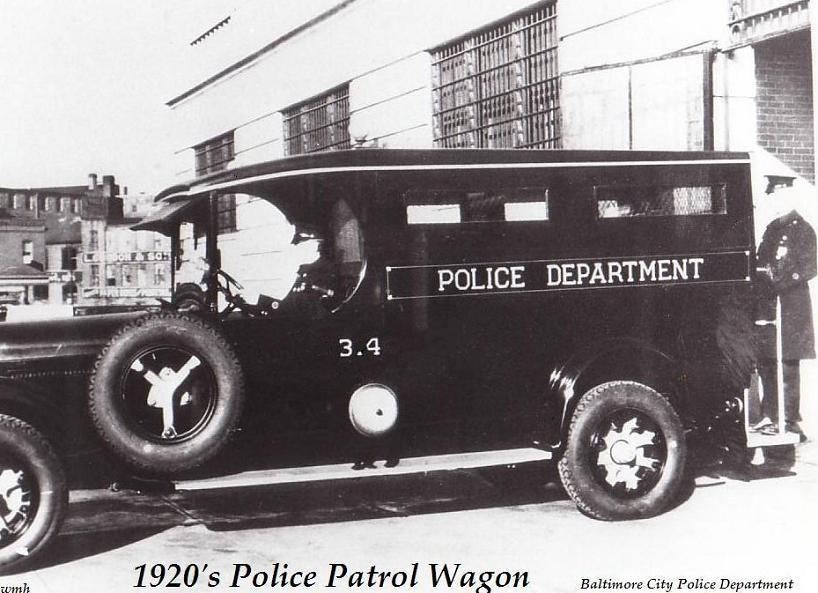 1920 patrol wagon