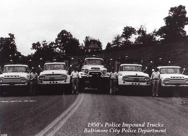1950s tow trucks