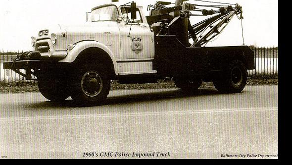 1960s gmc towtruck