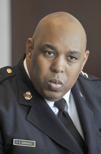 Deputy Commissioner Anthony Barksdale