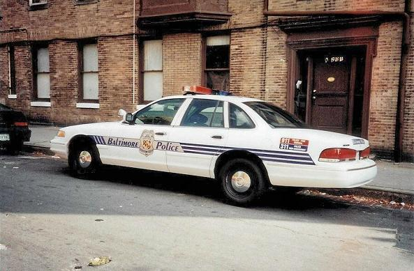 BPD 1997 Ford Crown Vic 1E