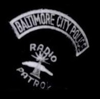 BPD Rocker with Radio Patrol Patch
