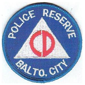Baltimore Police Civil Defense 1950s copy