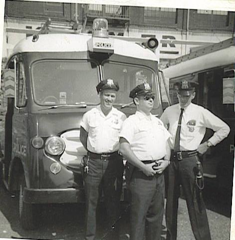 Blast from the Past I found a group of old photos of my dad an other EVU members Officer Howard Bud Lindsay his partner Officer Phil Walters on the left and in the middle is Andy Sullivan of the Southern Dist