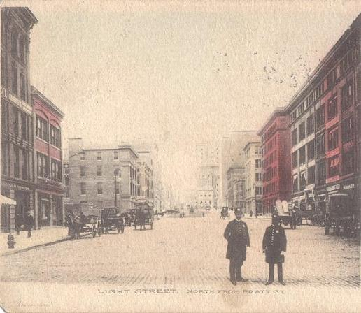 Light Street 1907