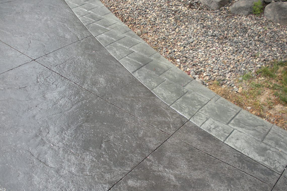 best colors for stamped concrete