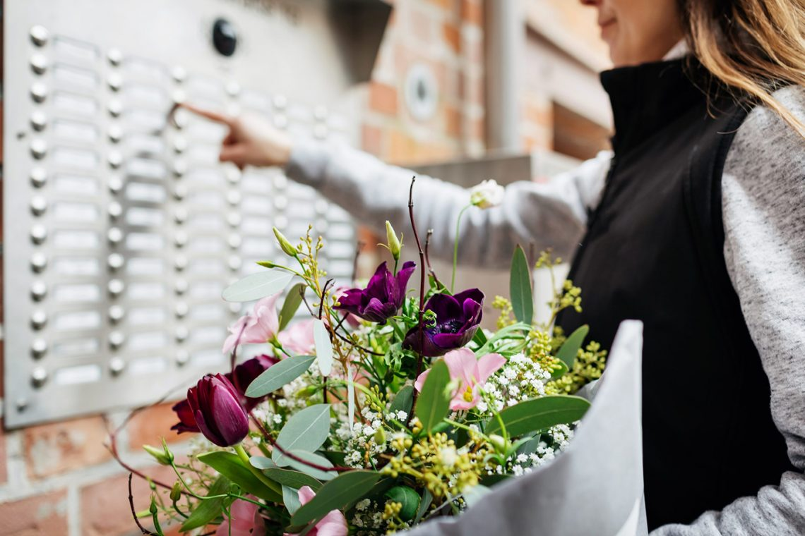 flower delivery box